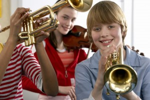 brass instruments kids lessons