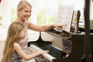 piano lesson 1